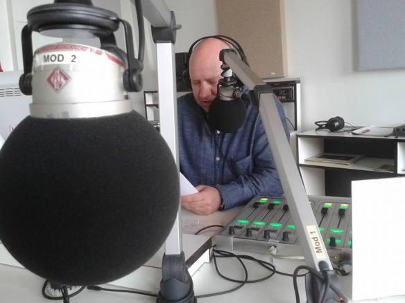 Meddi Müller bei Radio X